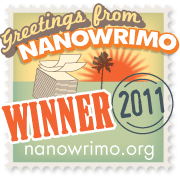 NaNoWriMo Winner Badge 2011