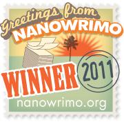 NaNoWriMo Winner Badge 2011