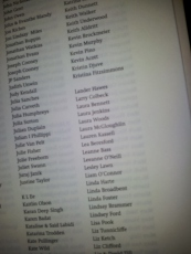 My name in the subscriber list!